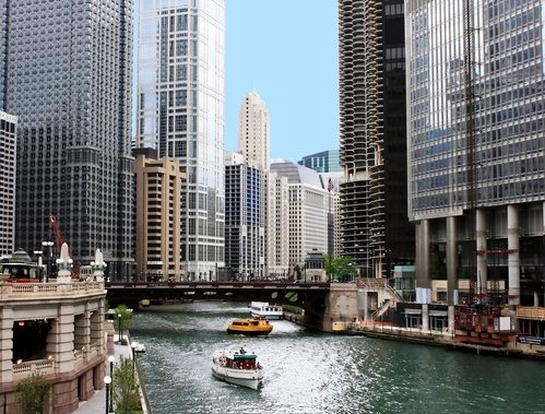 City of Chicago by River View