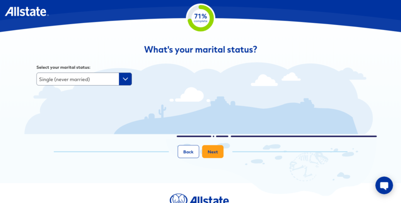 Allstate Get a Quote Marital Status