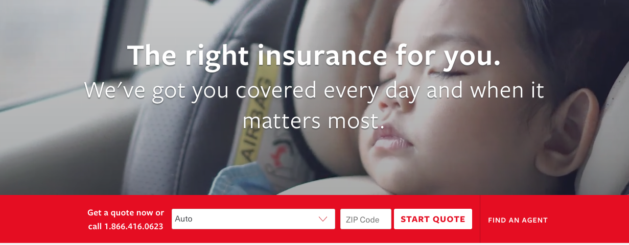 Travelers insurance auto insurance quote start page