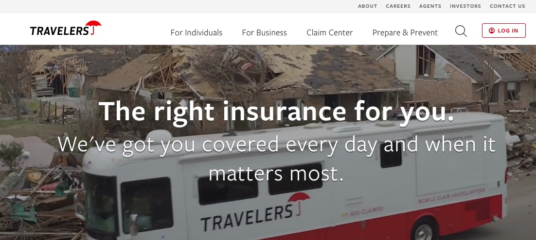 Travelers insurance auto insurance home page